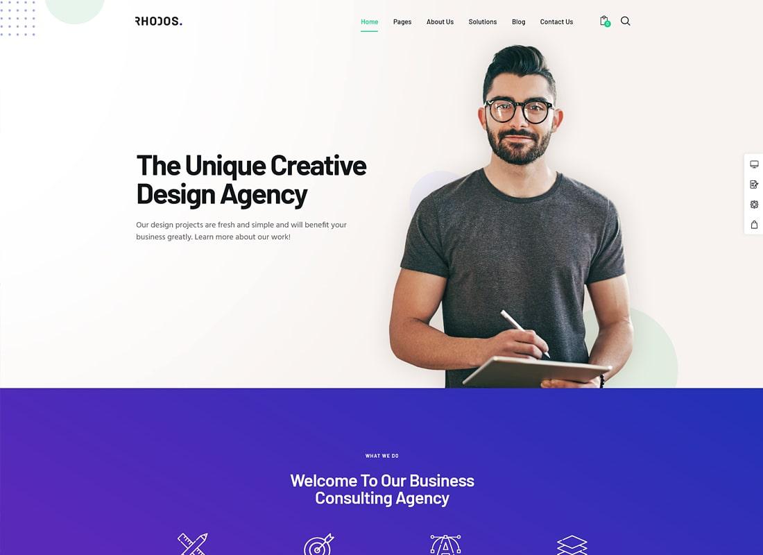 Rhodos | A Colossal Multipurpose WordPress Theme for Business & Portfolio