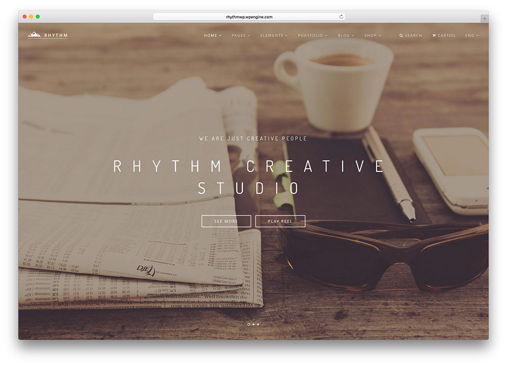 rhythm-creative-studio-wordpress-theme