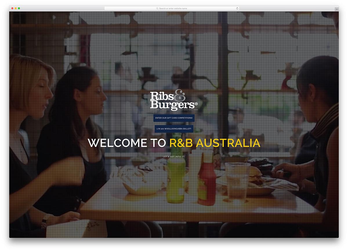 ribsandburgers-fullscreen-restaurant-theme-with-brooklyn