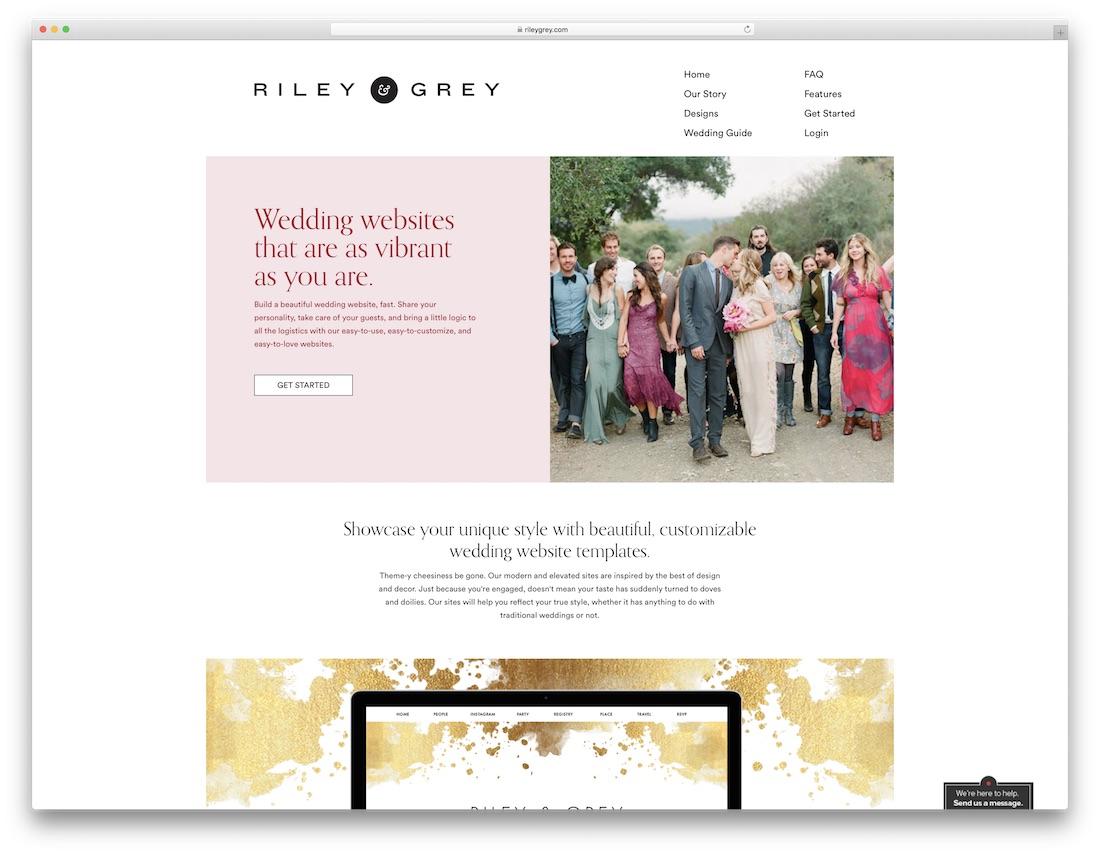Best Wedding Websites.23 Best Wedding Website Builders For Gorgeous Sites 2019 Colorlib