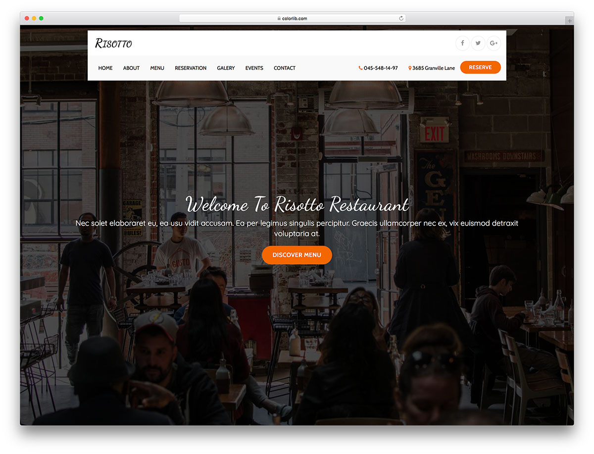 risotto-free-seo-friendly-website-templates
