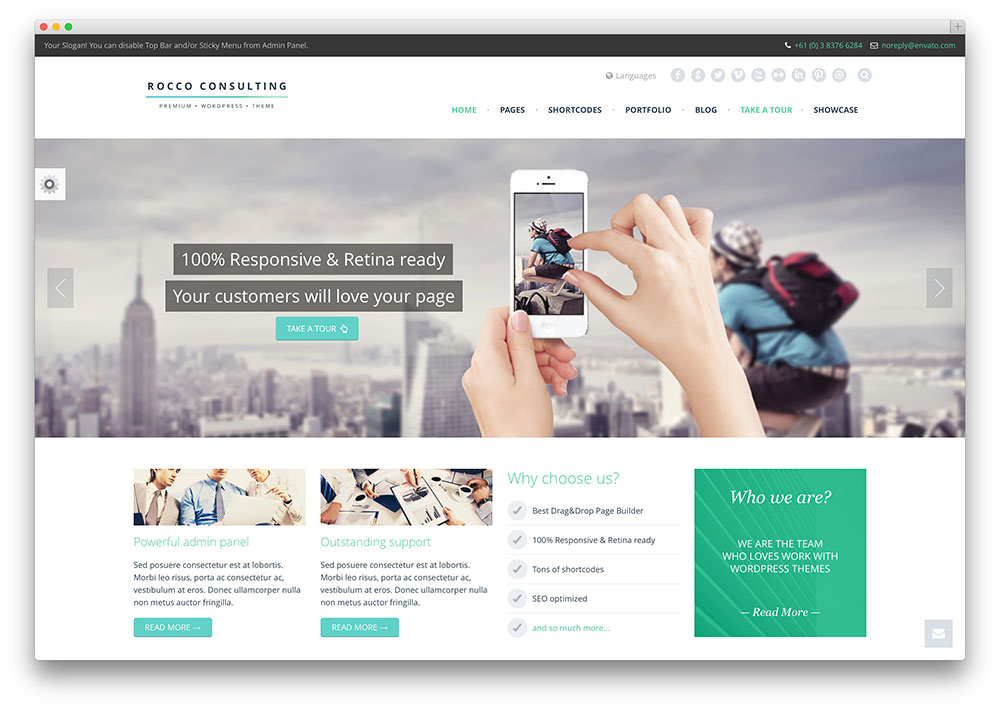 cool business website designs 40 awesome flat design wordpress themes