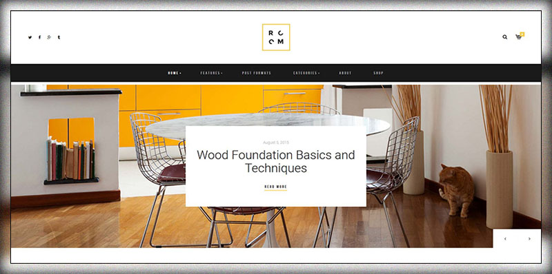 14 furniture woodwork wordpress themes 2019 colorlib - Interior design shopping websites ...