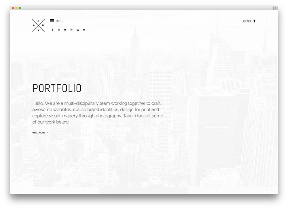 40+ Best Personal Portfolio WordPress Themes 2017 - Colorlib