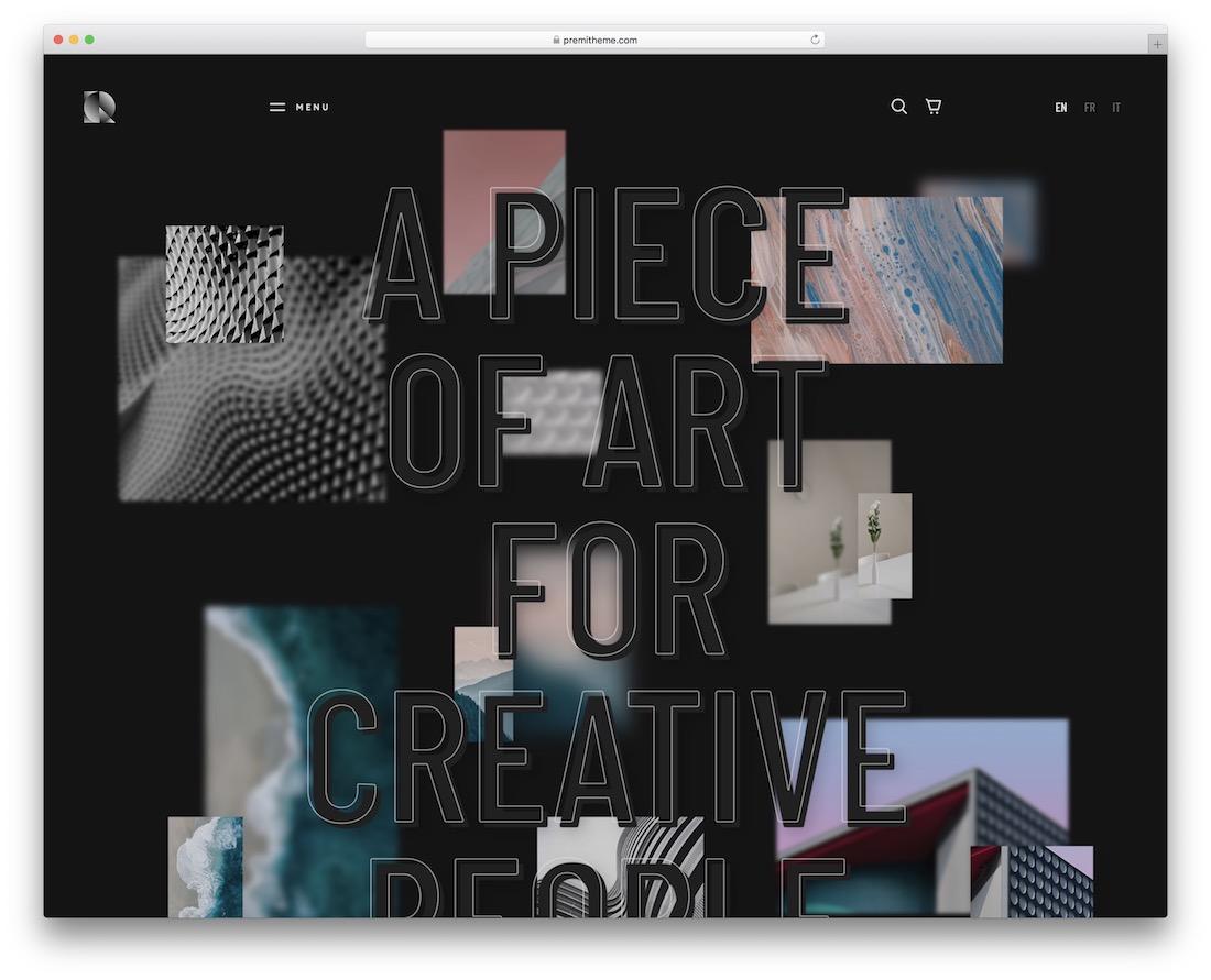 rouben freelancer wordpress theme