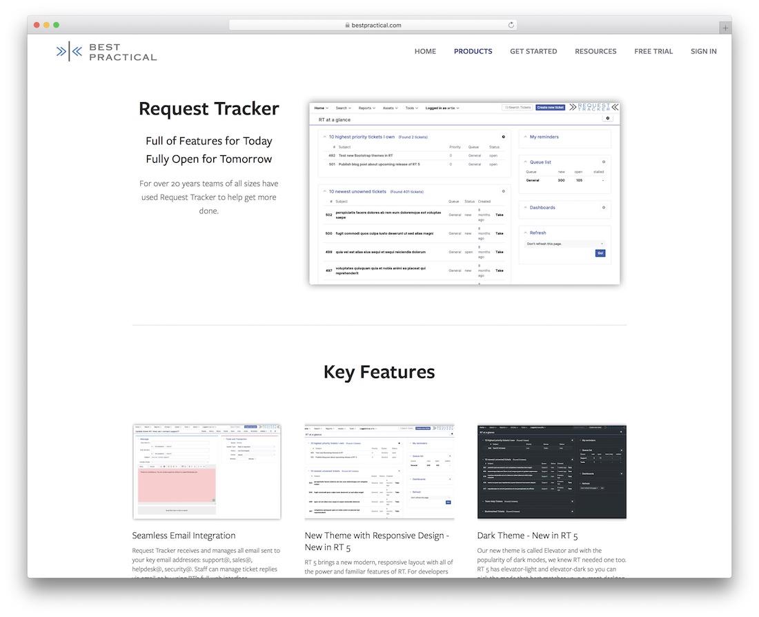 rt and rtir bug tracking tool