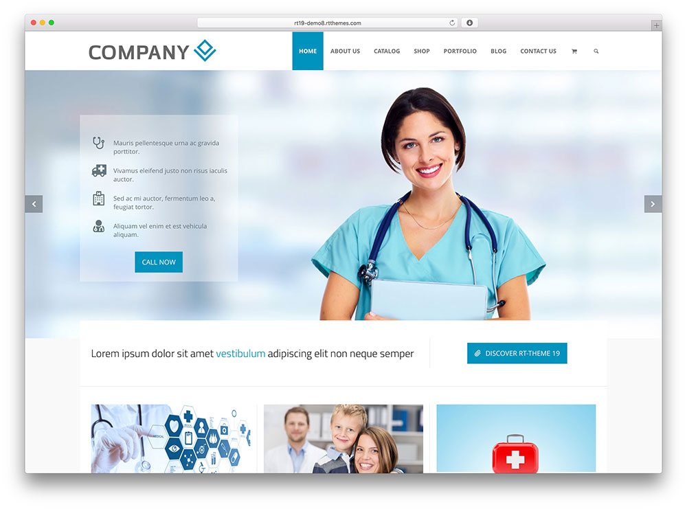 rttheme 19 - medical wordpress theme