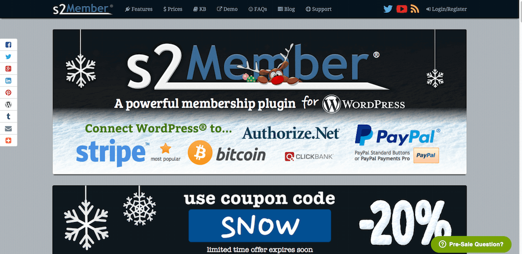 s2Member® A powerful free membership plugin for WordPress®
