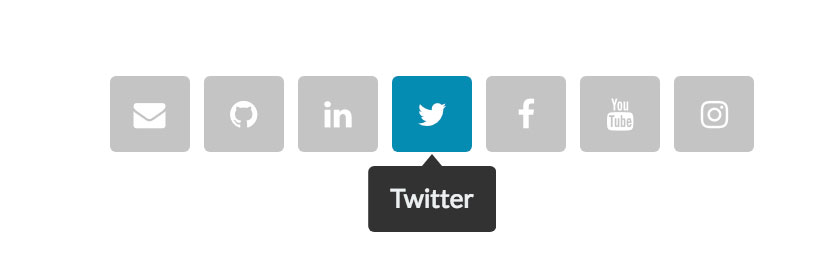 Top 17 Free HTML5 & CSS3 Social Sharing Buttons Templates