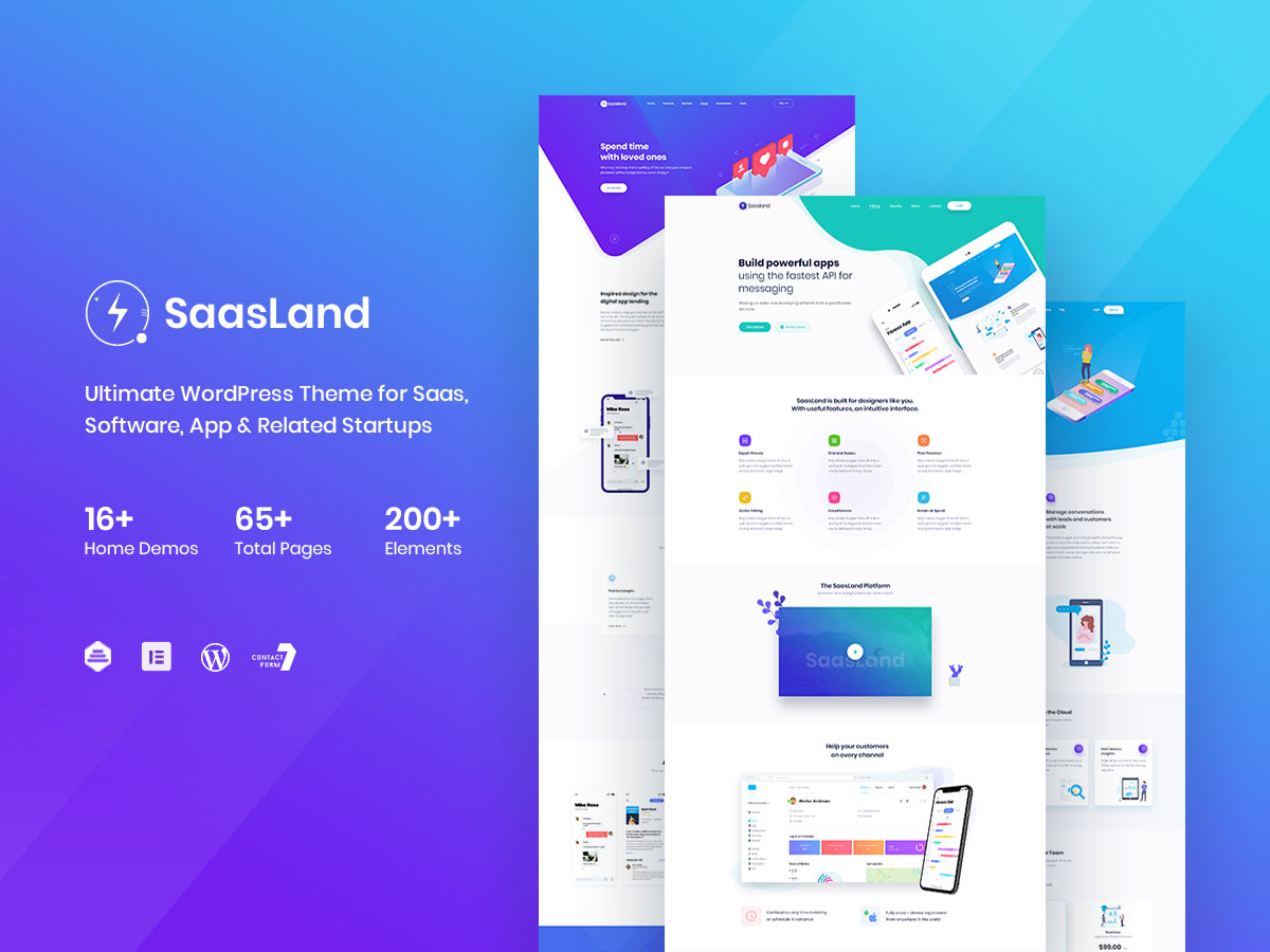 App showcase theme