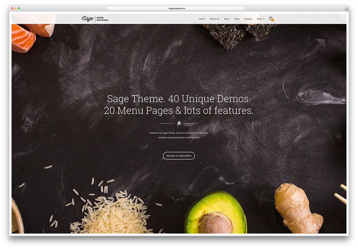 sage-creative-fullscreen-restaurant-theme