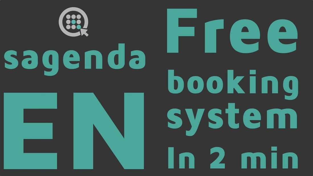 sagenda 무료 예약 시스템