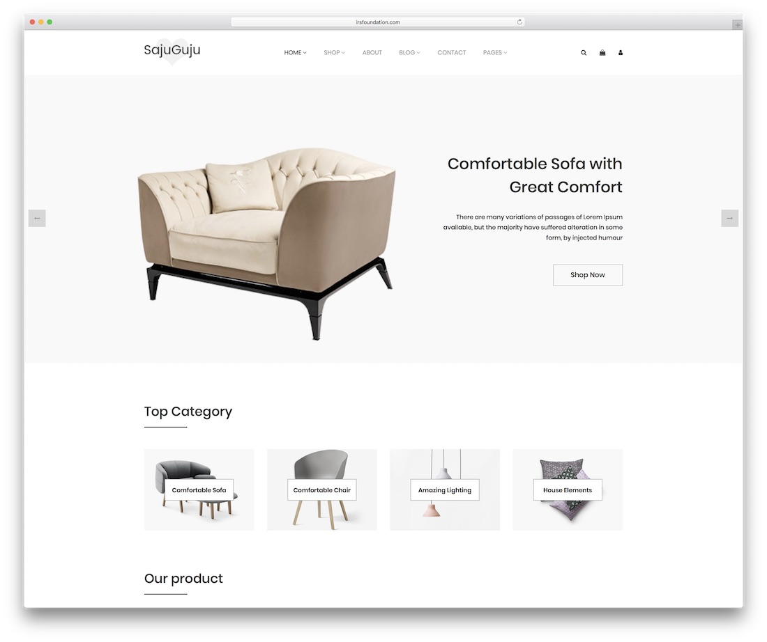 sajuguju simple website template
