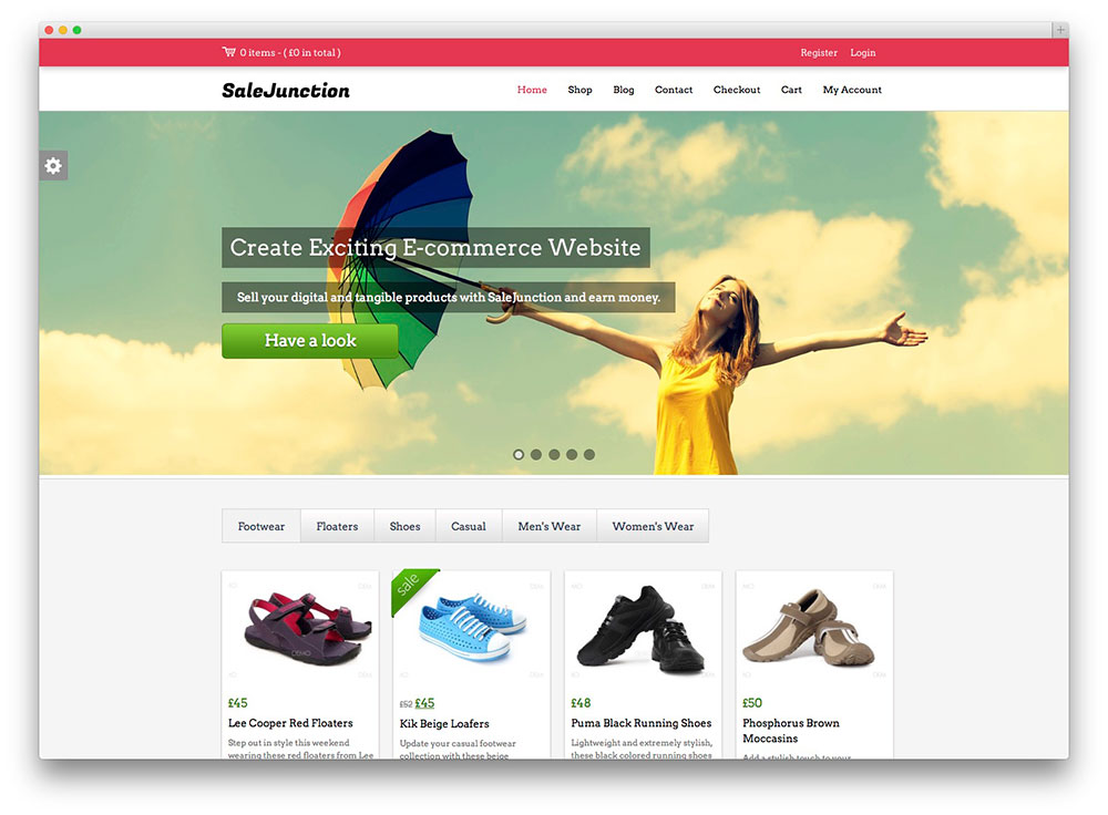 SaleJunction Free WooCommerce WordPress Theme