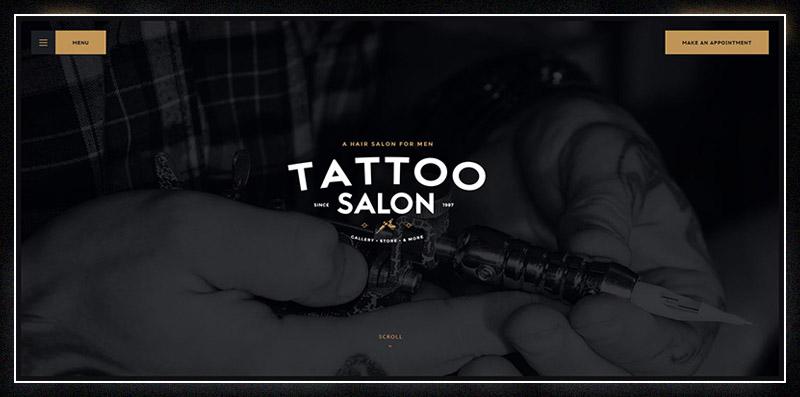 Salon | Barbershop & Tatoo WordPress Theme