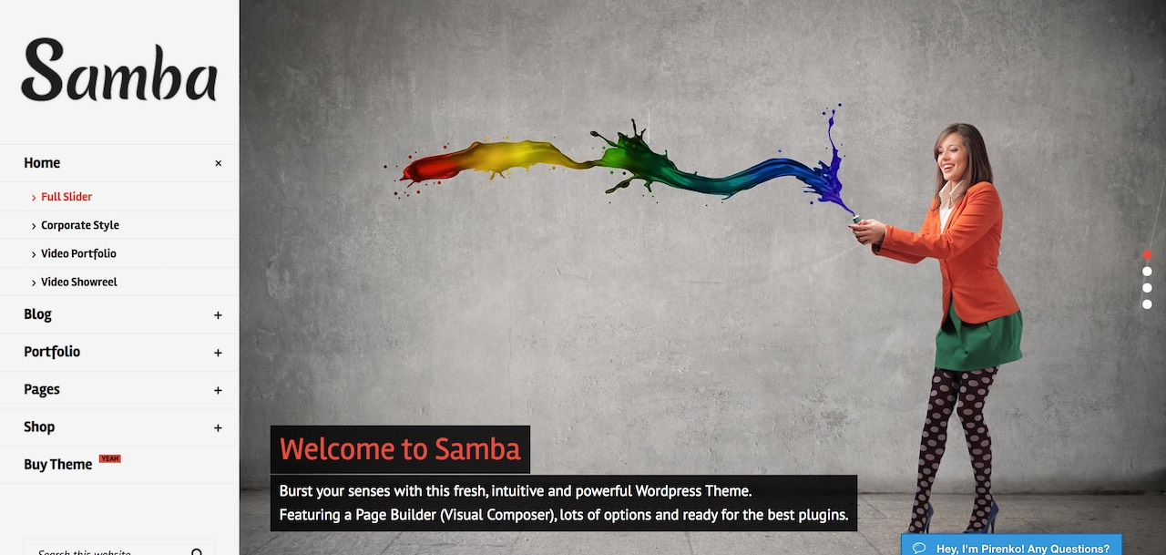 samba-colored-wordpress-theme-CL