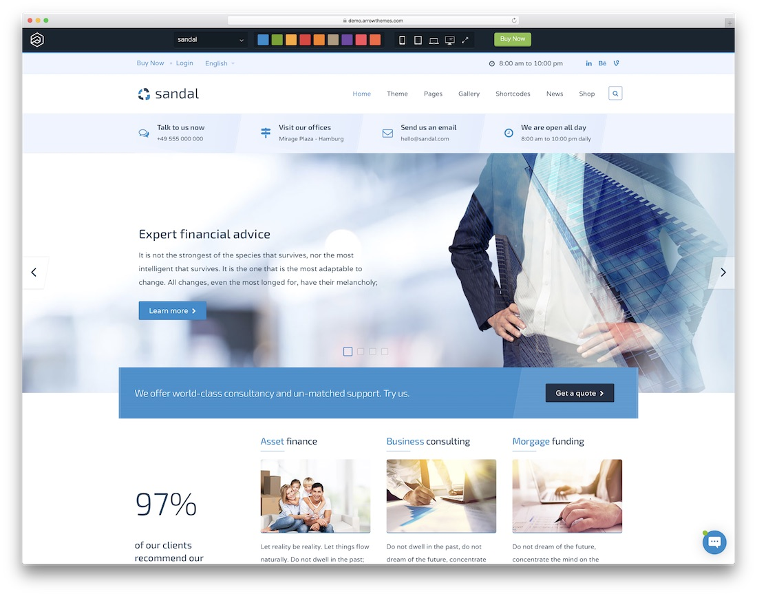 21 best most compelling joomla business templates 2018 colorlib sandal joomla business template cheaphphosting Image collections