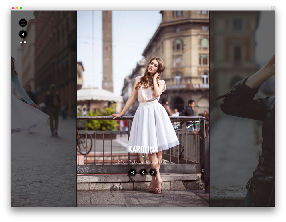 santino photography theme
