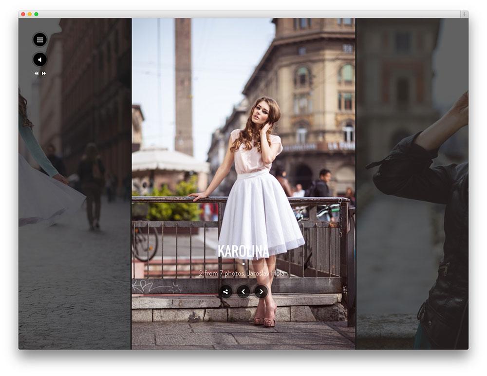 Santino Theme For Photographers