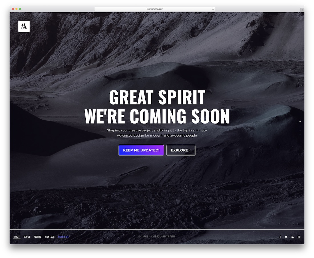 27 Best Responsive Coming Soon Page Templates 2019 - Colorlib