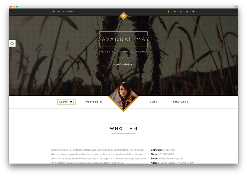 savannah freelancer wordpress theme. Resume Example. Resume CV Cover Letter