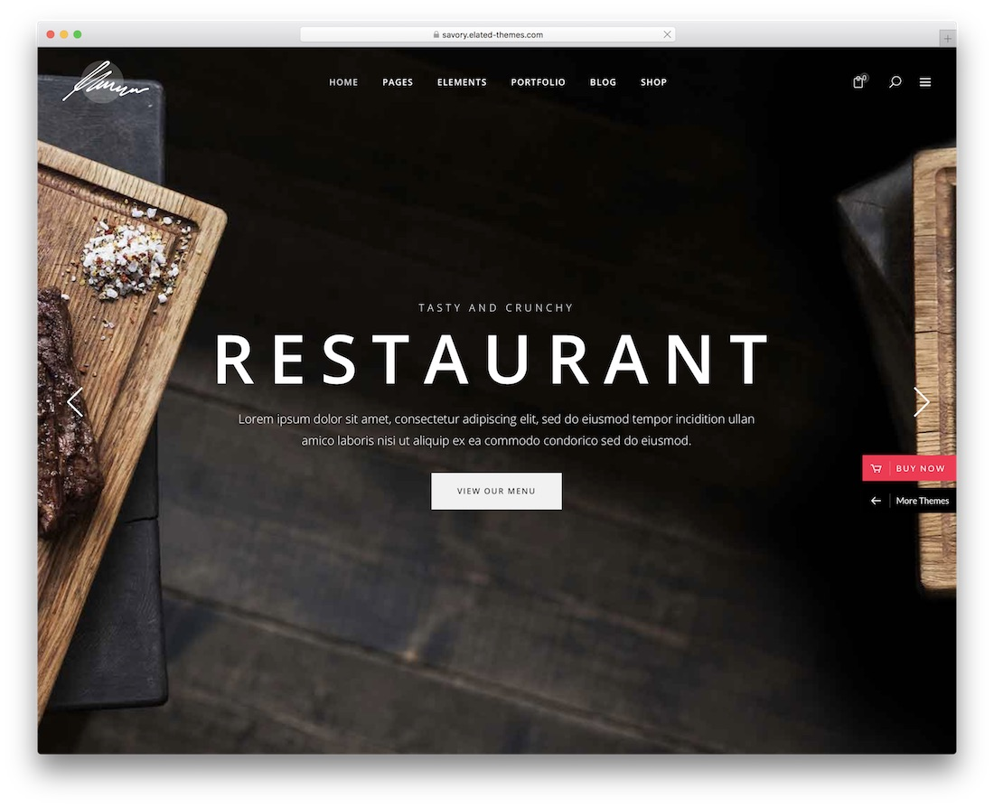48 Best WordPress Restaurant Themes 2019 - Colorlib
