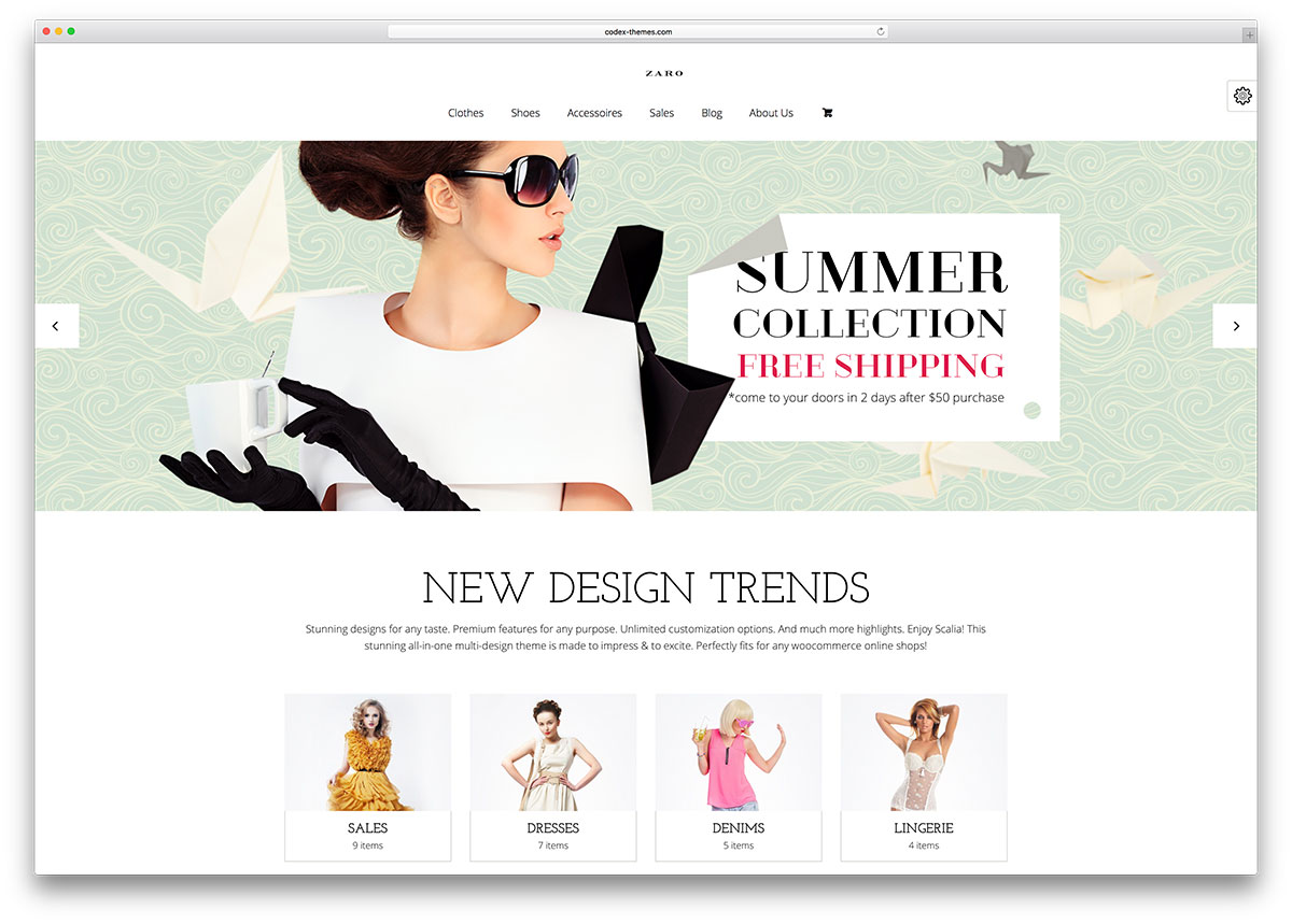 51 Beautiful & Responsive WordPress Shop Themes 2019 - colorlib