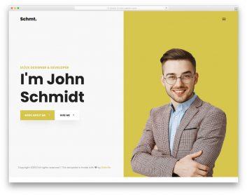 Schmidt Template