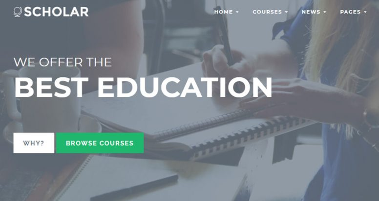 26 Best Premium & Free Education Website Templates 2018