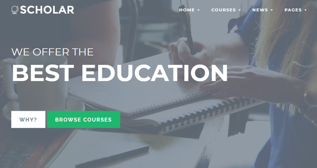 21 Best Premium & Free Education Website Templates 2017