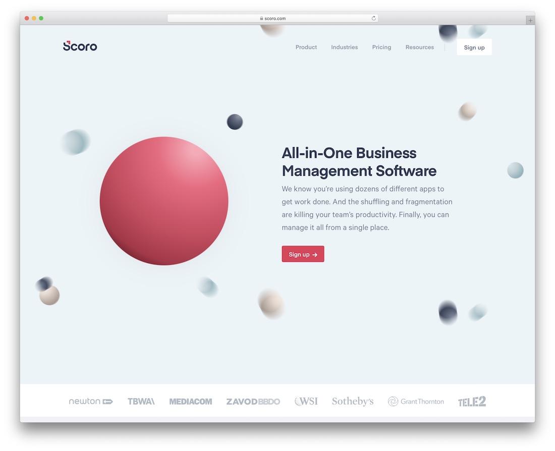 scoro free productivity tool