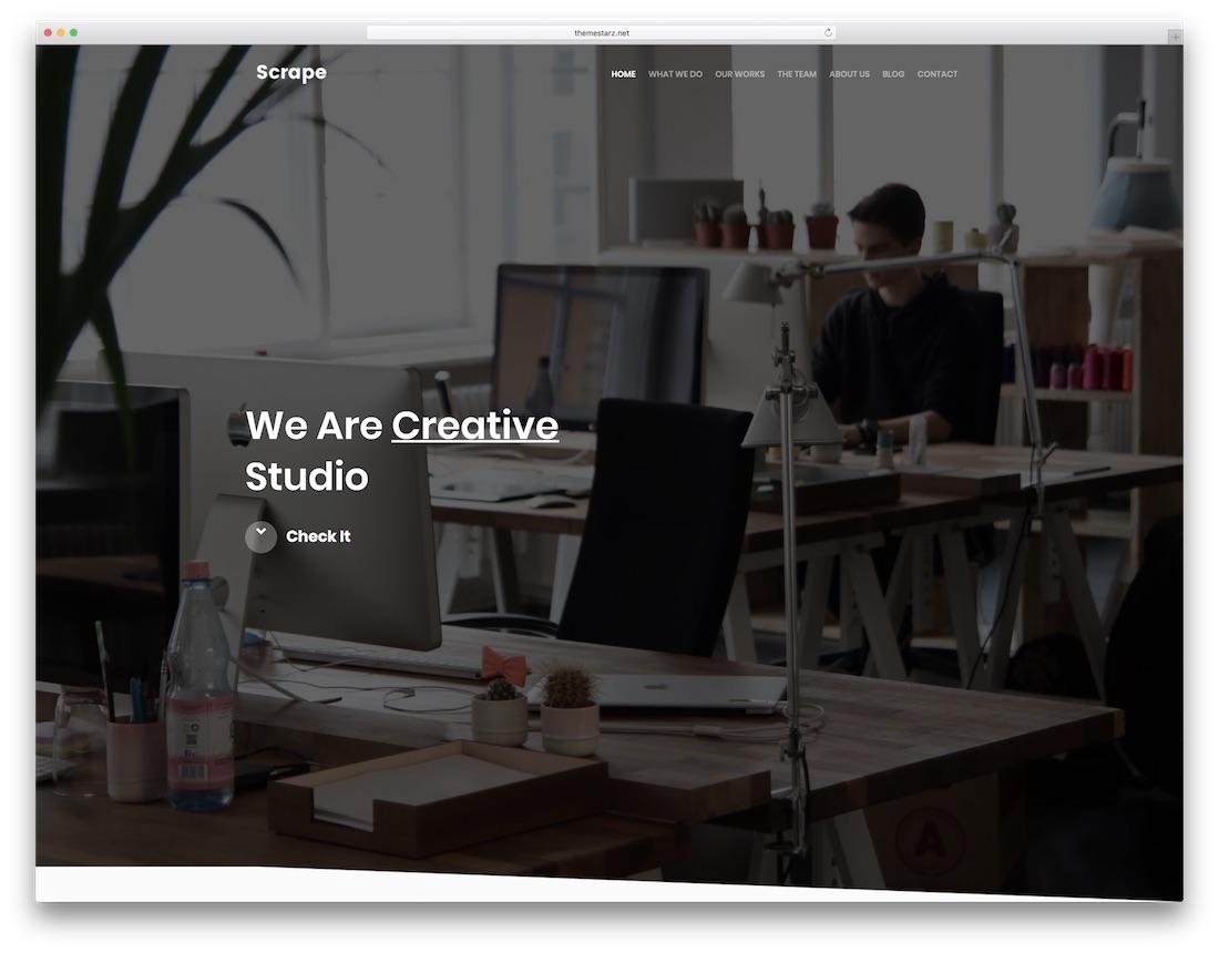 Best Responsive Graphic Design Website Templates Colorlib - Graphic design website templates