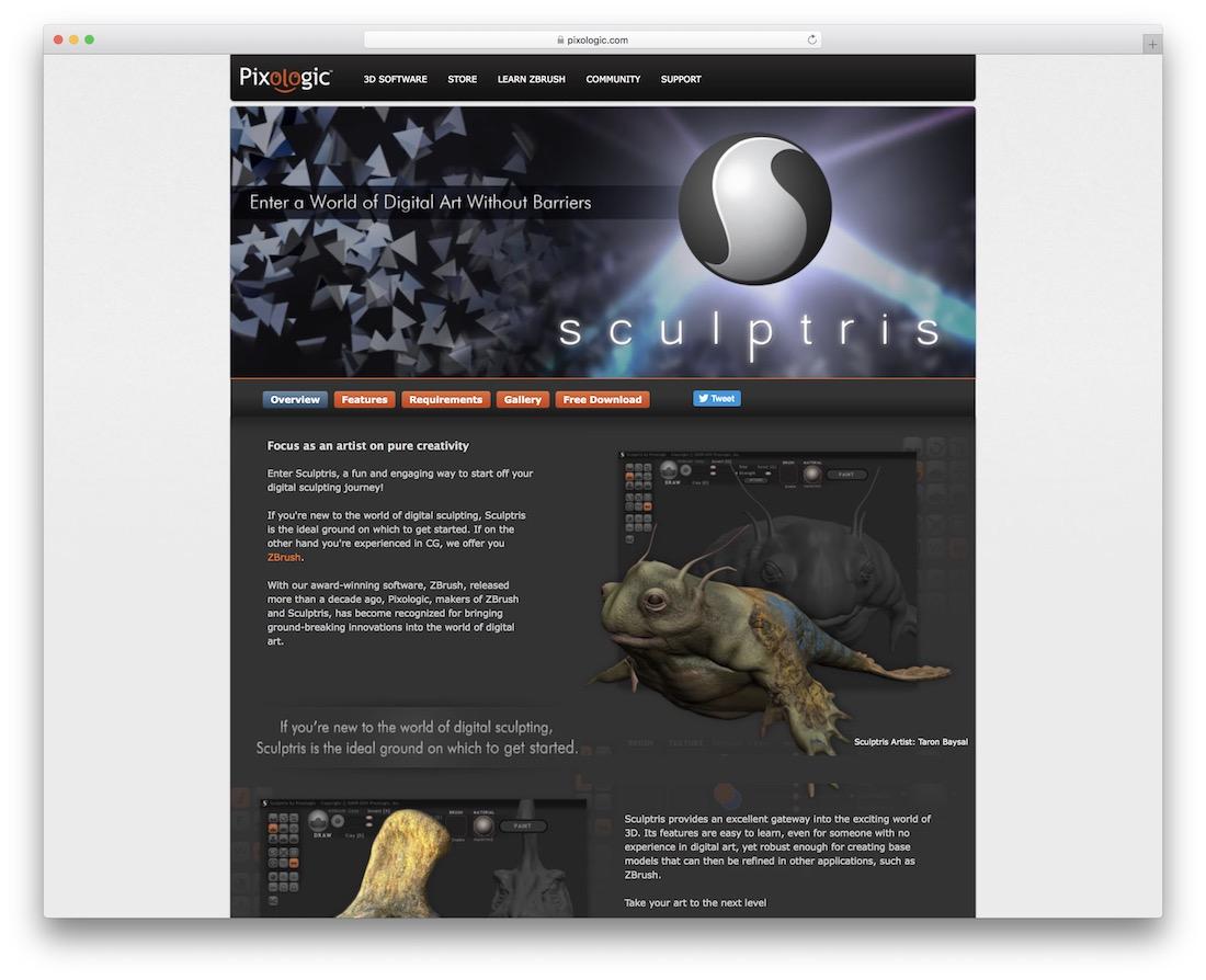 sculptris 3d editing tool