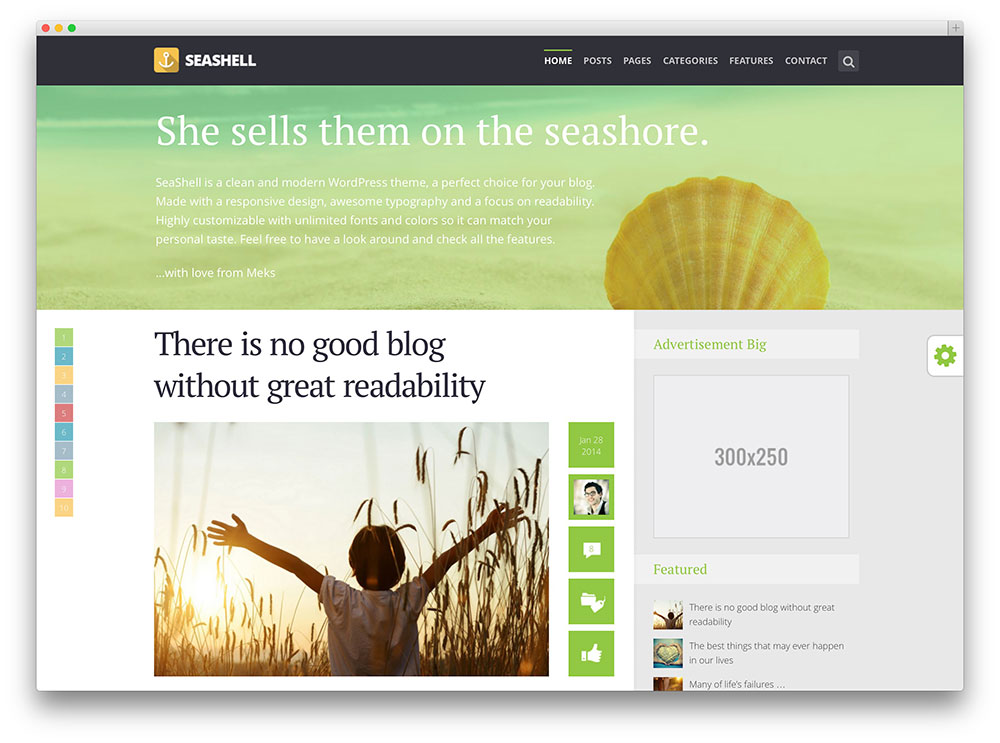 30 best blog wordpress themes 2016 by colorlib portfolio