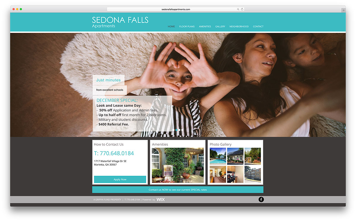 sedonafallsapartments-real-estate-site-with-wix