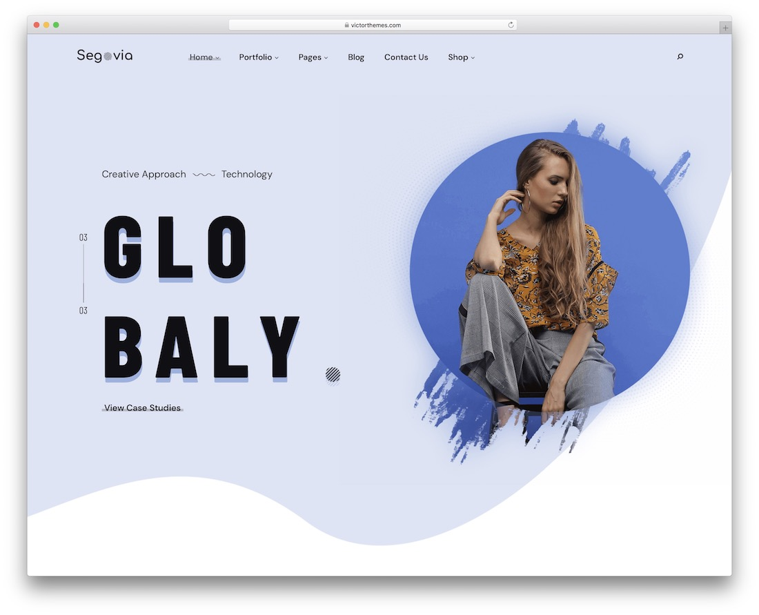 segovia wordpress theme