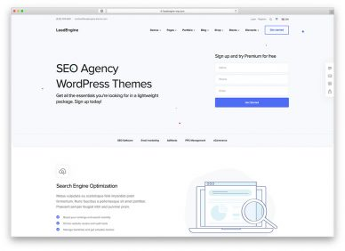 Seo Agency Wordpress Themes