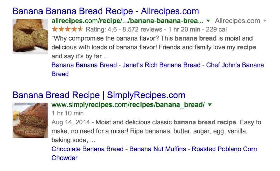 seo recipe snippets wordpress plugin