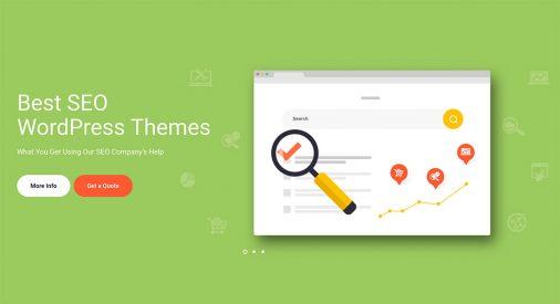 Seo Startup Wordpress Temes