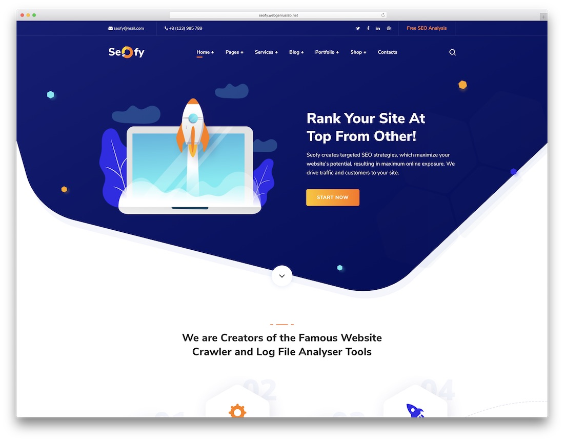seofy popular wordpress theme