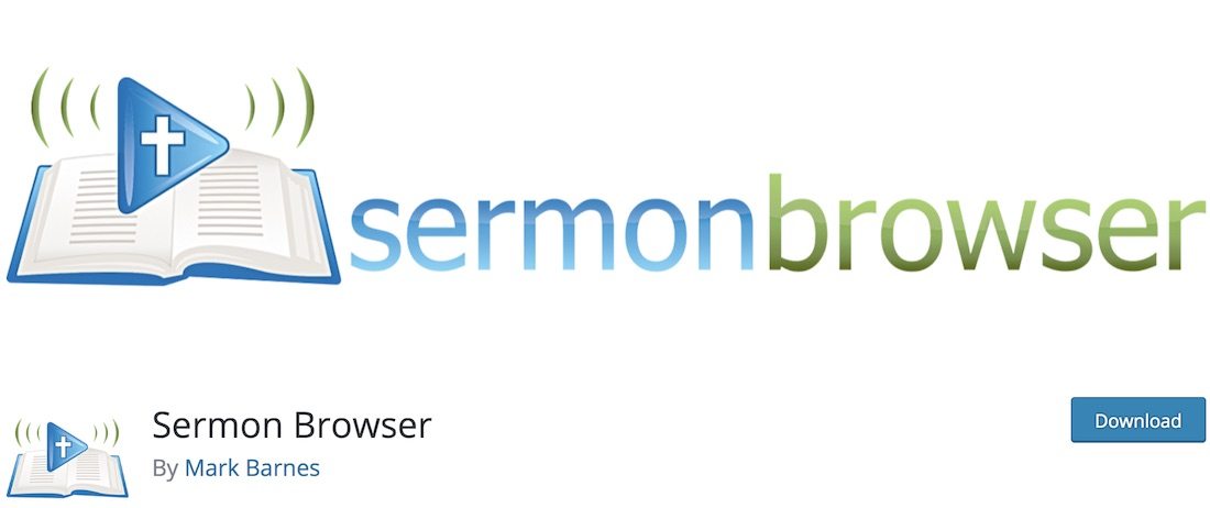 sermon browser wordpress podcasting plugin