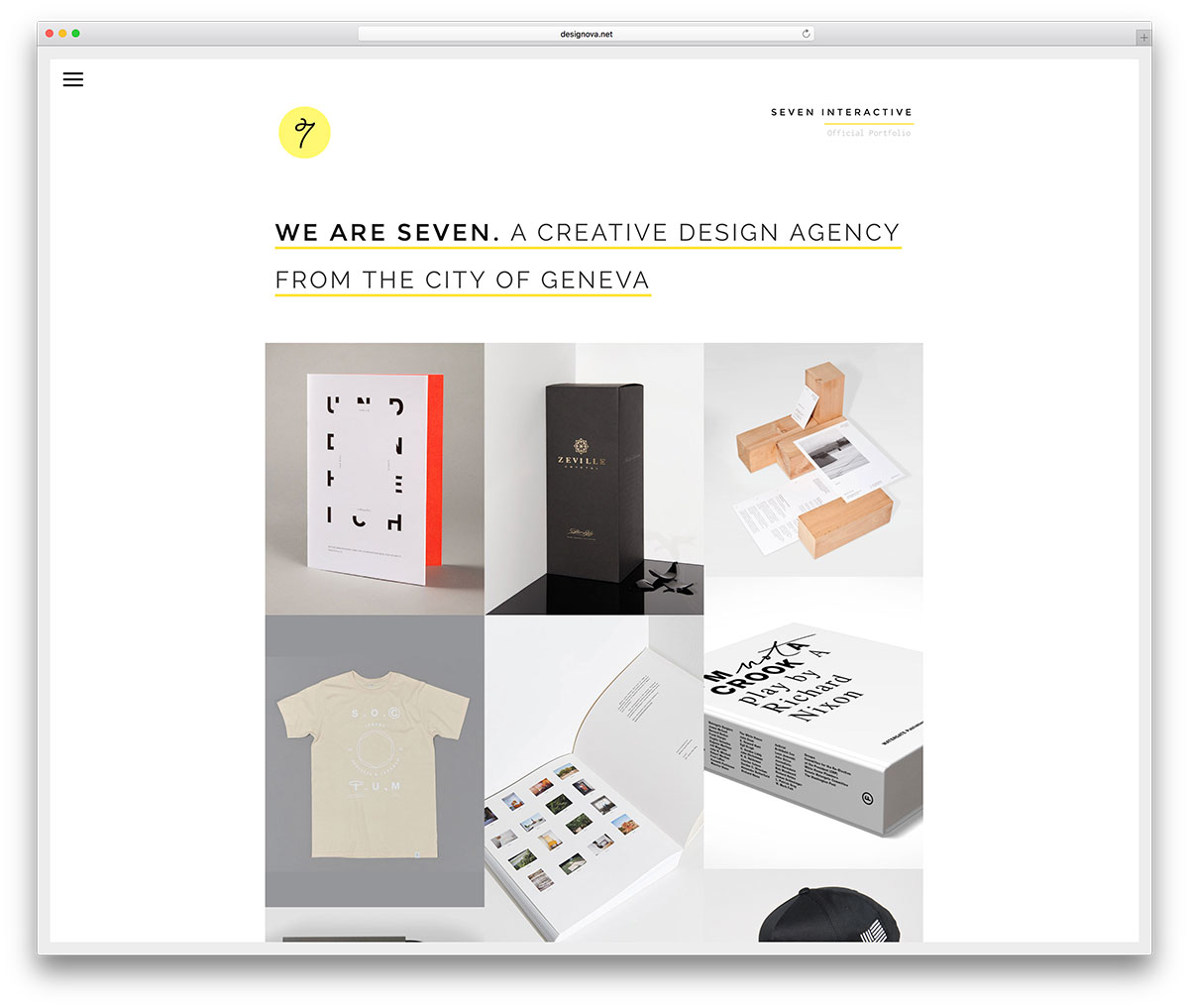 sete criativo-portfolio-freelance-site-template