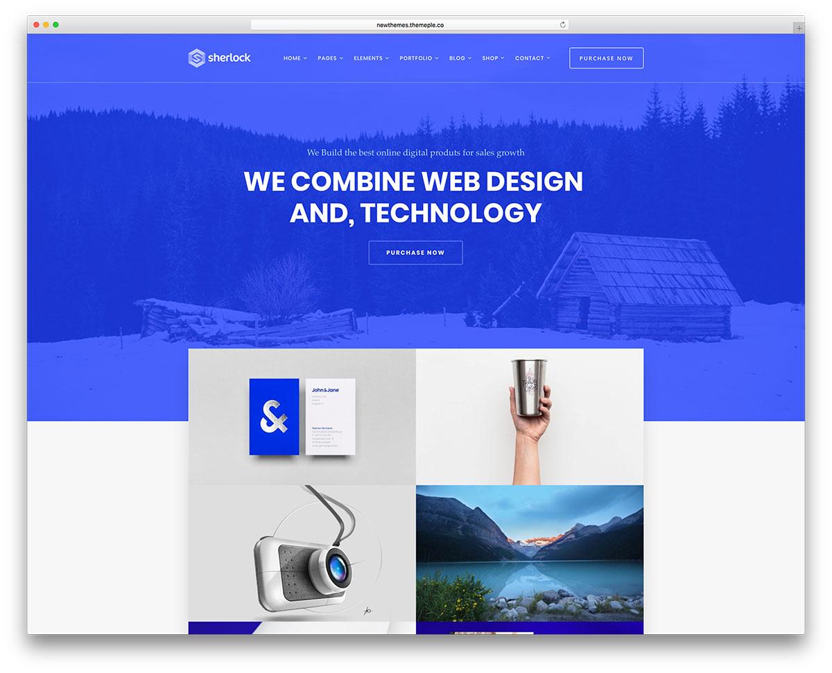 Learn web design wordpress template
