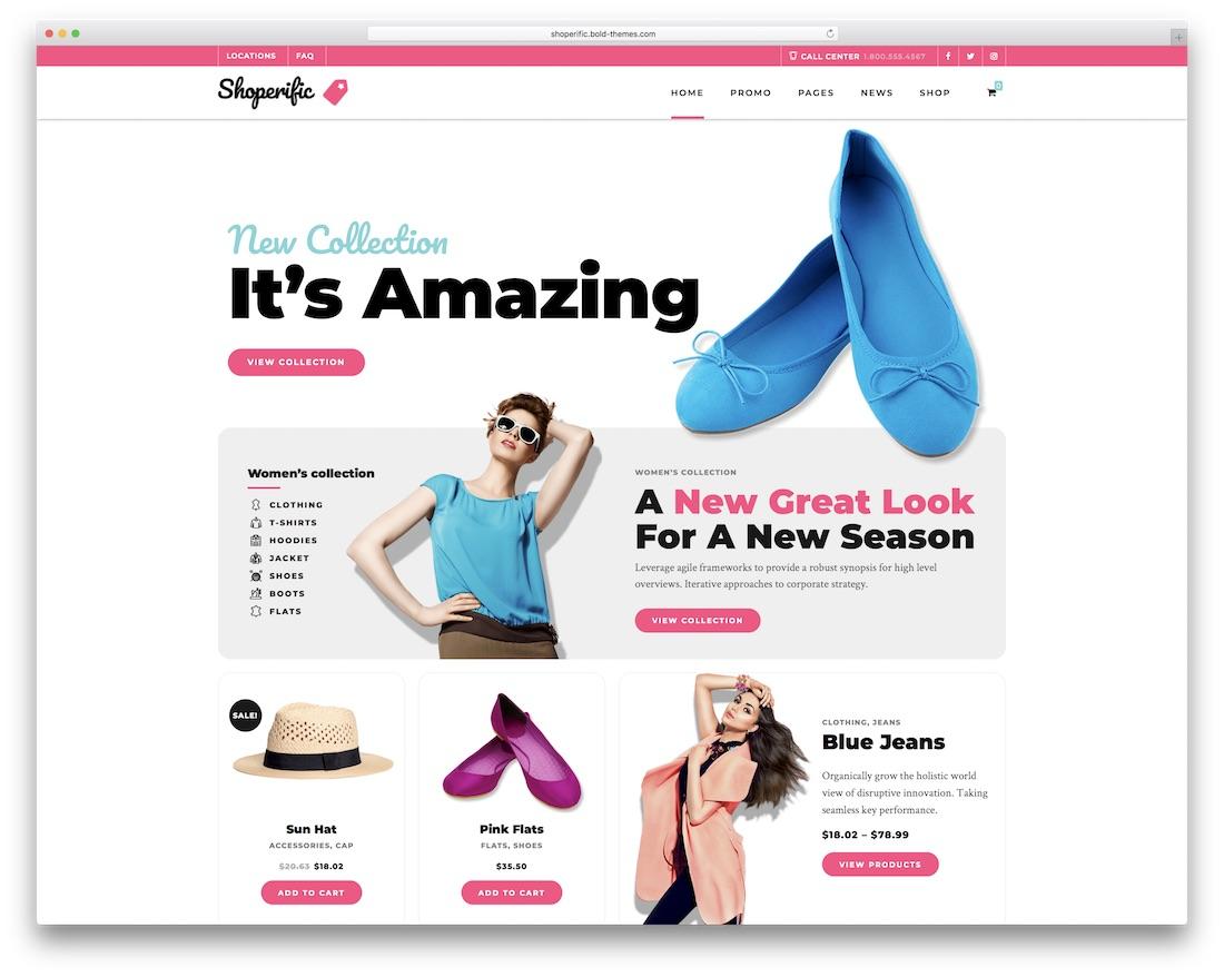 shoperific wordpress webshop theme