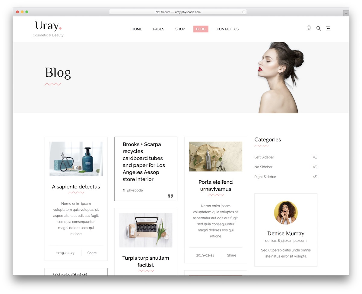 14 Most Impactful Shopify Blog Themes 2020