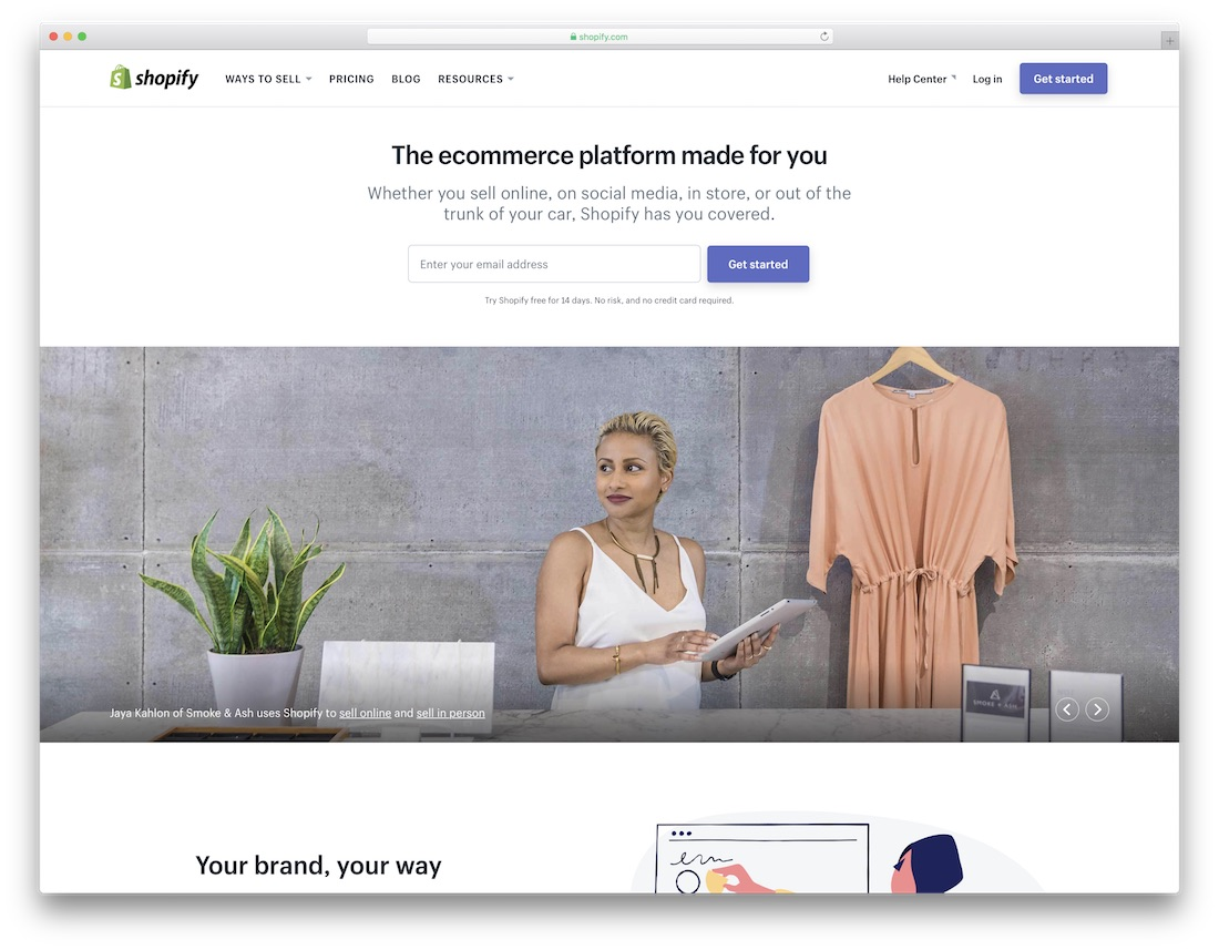 shopify cheap website builder and hosting