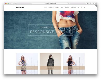 Shopify Fashion Themes