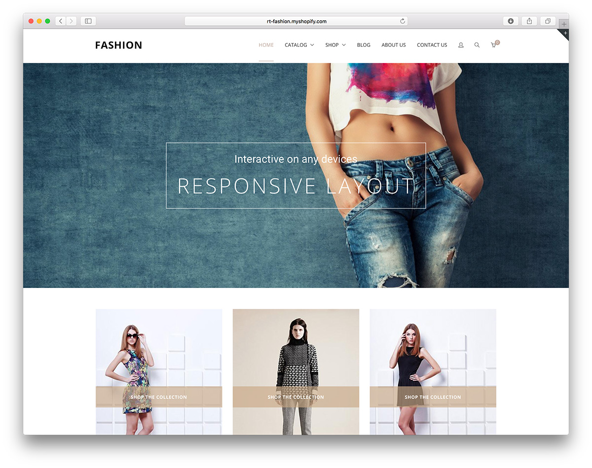 36 Top Trendy Clothing & Fashion Shopify Themes 2018