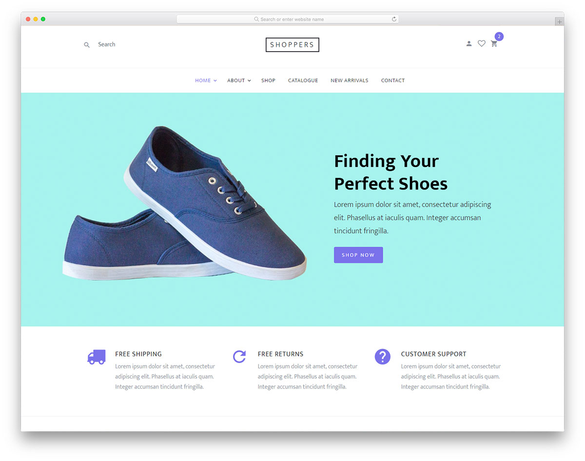 Top 25 Free Ecommerce Website Templates Built With Bootstrap 2019