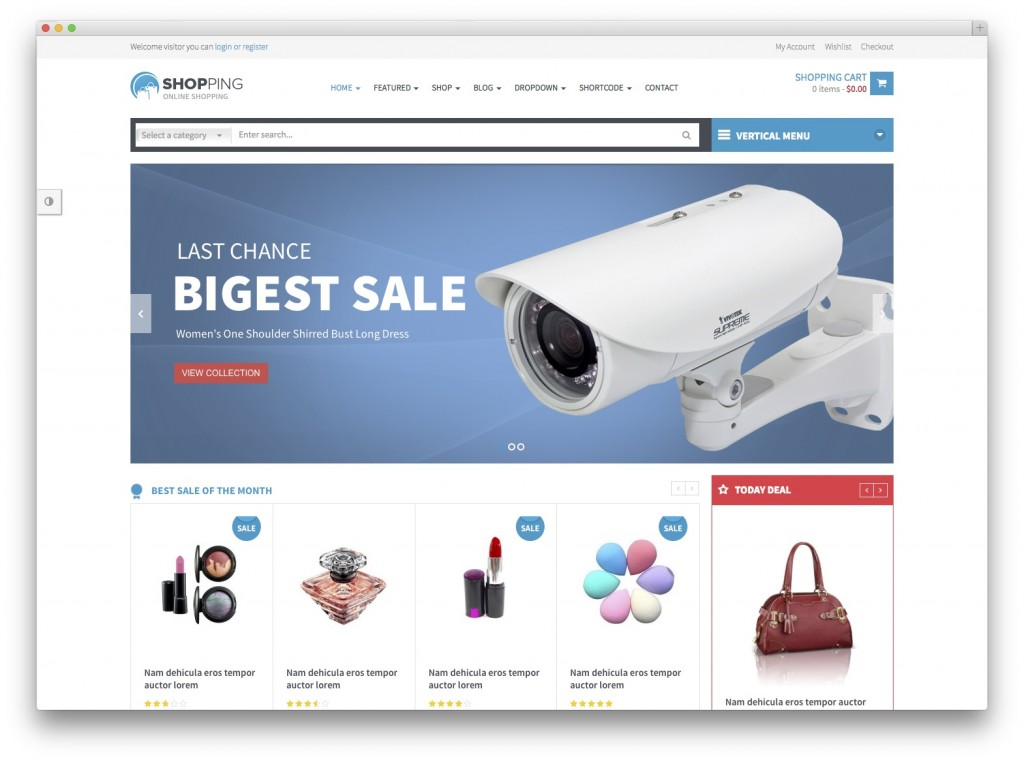 shopping wooCommerce universal store